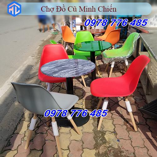 bàn ghế cafe cũ tphcm