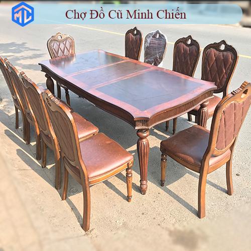 bộ bàn ăn cao cấp 10 ghế