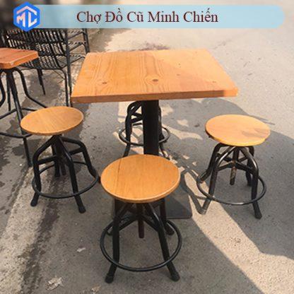 bàn ghế cafe cũ giá rẻ