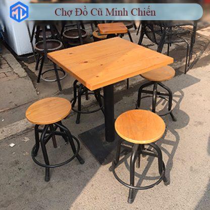 bàn ghế cafe cũ giá rẻ tphcm