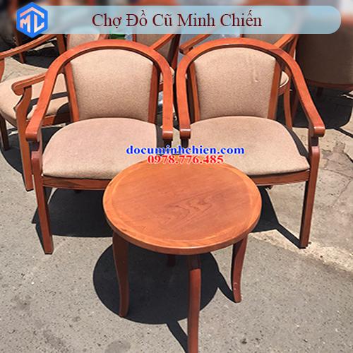 bàn ghế phòng khách sạn