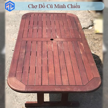 bàn gỗ căm xe