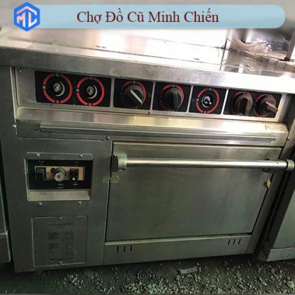 bếp nướng đá chubarwang có lò nướng