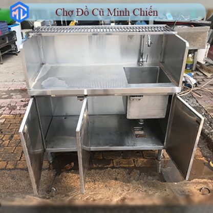 bồn rửa inox 304 có hộc tủ
